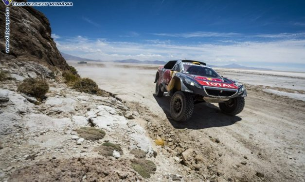 Ambiții mari pentru Peugeot în Silk Way Rally
