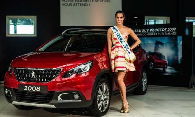 Miss France și Peugeot 2008