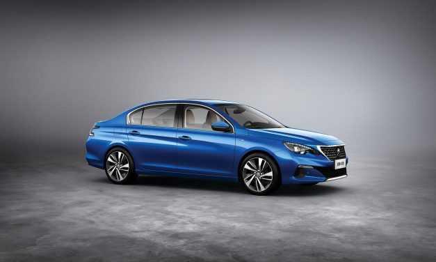 Se întâmplă în China: Peugeot 408 primește un facelift