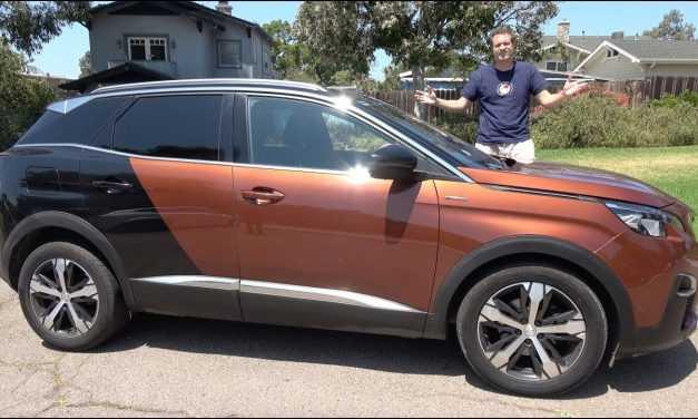 Video: cum reacționează un american la un Peugeot 3008