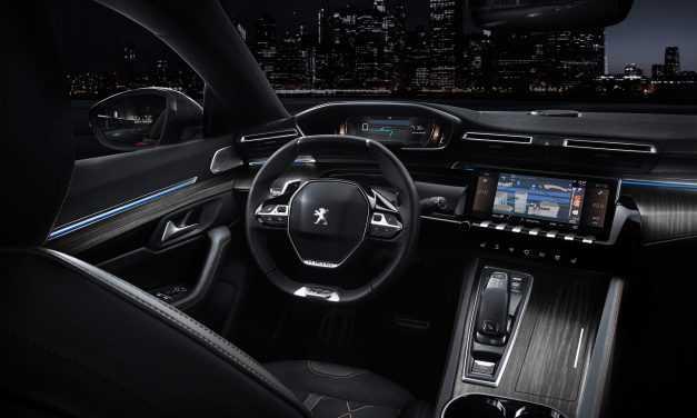 Peugeot 508: sistemele electronice prezentate cu ajudorul tehnologiei video 360 VR