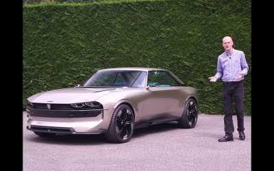 Video: Peugeot e-Legend prezentat de autojournal.fr