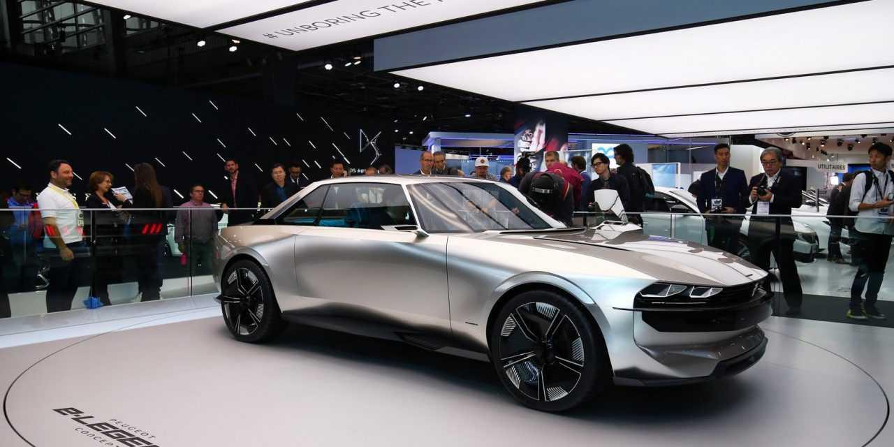 Peugeot e-Legend la Salonul Auto de la Paris