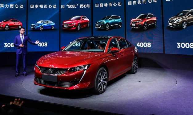 S-a lansat Peugeot 508L. Versiunea cu ampatament mărit disponibilă în China