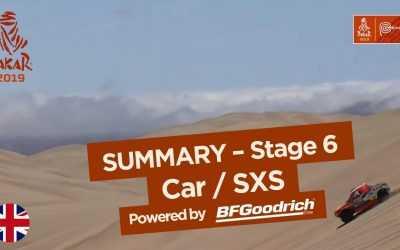 Raliul Dakar 2019: Sebastien Loeb câștigă etapa a șasea și urcă pe locul doi în clasamentul general